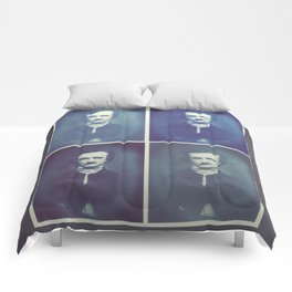 Edgar Allan Poe Horrible Sanity Comforters