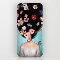 The Botanist's Daughter iPhone & iPod Skin