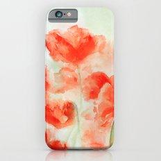 Flanders Poppies iPhone 6s Slim Case