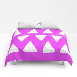 Fuchsia Frolic Comforters