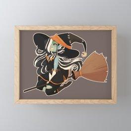 Frankenwitch Framed Mini Art Print