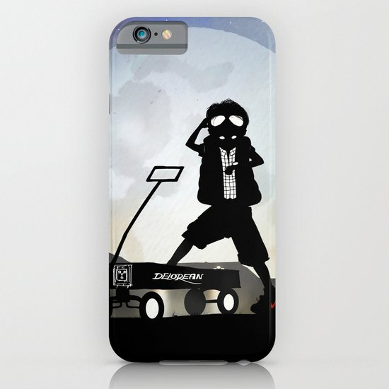 McFly Kid iPhone & iPod Case