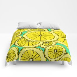 Lemons by Emma Freeman Designs Comforters