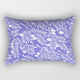 Olive Branches – Periwinkle Rectangular Pillow