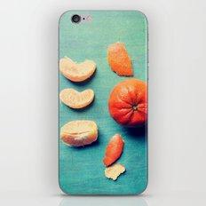 Orange Wedge iPhone & iPod Skin