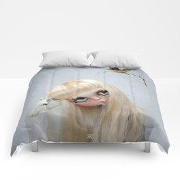 Erregiro Blythe Custom Doll, The White Horse Comforters