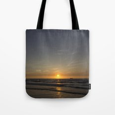 Lonely Sunset Tote Bag