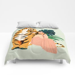 Tiger Spirit Comforters