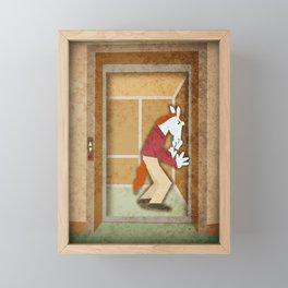 Why Unicorns Don't Sneeze In Elevators Framed Mini Art Print