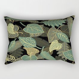 Leaves Art Rectangular Pillow