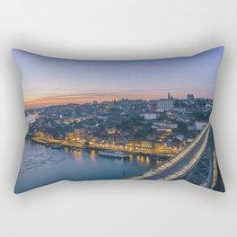 Porto from Serra do Pilar. Rectangular Pillow
