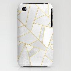 White Stone iPhone (3g, 3gs) Slim Case