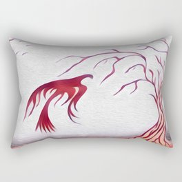 Your Friends Flew South Many Months Ago Rectangular Pillow