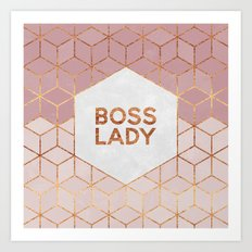 Boss Lady / 2 Art Print