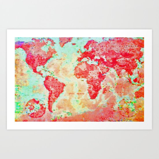 Oh, The Places We'll Go... Art Print