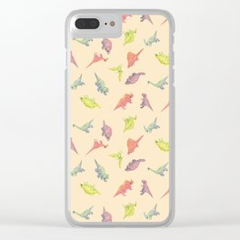 JellyDinos Clear iPhone Case