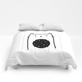 Galaxy Kitty Comforters