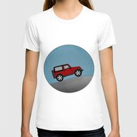jeep T-shirts featuring Jeep Jeep by rochaStuff