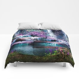Fantasy Forest Comforters