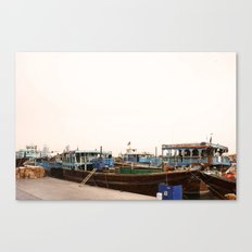 Dhows Canvas Print