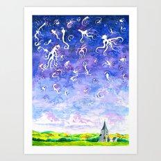 Midwest dreams #2 Art Print