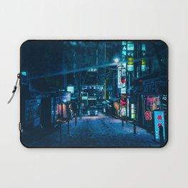 From My Umbrella -Snowy Night- Laptop Sleeve
