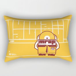 UNDO | Music to the people 10 Rectangular Pillow