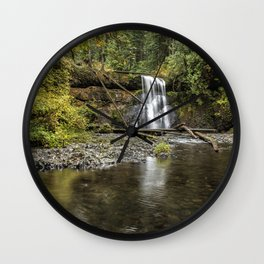 Upper North Falls Wall Clock