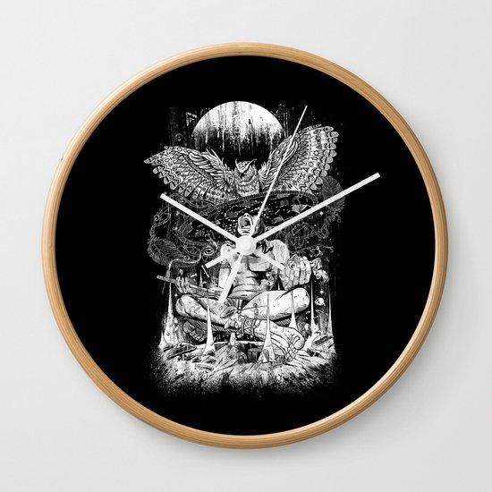 Spirit Owl Wall Clock