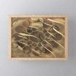 Hades Golden Flocks Framed Mini Art Print
