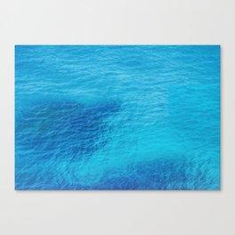 Bluest Blue Canvas Print