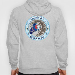 Crazy Horse Dreaming Hoody