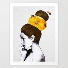 The Bee Hive Art Print