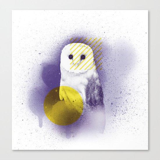 The Calm Owl Canvas Print