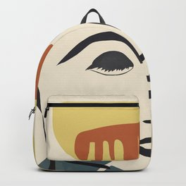 Abstract Face III Backpack