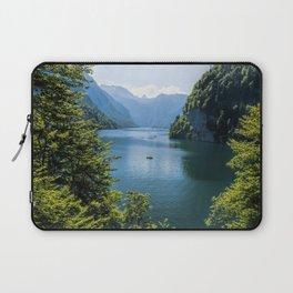 Germany, Malerblick, Koenigssee Lake III- Mountain Forest Europe Laptop Sleeve