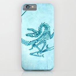 Velociraptor iPhone Case