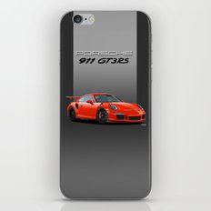 2016 Porsche 911 GT3 RS in Lava Orange iPhone & iPod Skin