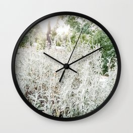 La silueta de Artemisa. Wall Clock