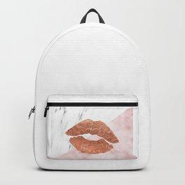 Kiss me marble Backpack