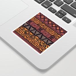 Tribal ethnic geometric pattern 021 Sticker
