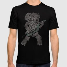 Trunk Rock LARGE Black Mens Fitted Tee