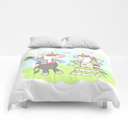 Unicorn Flamenco Comforters