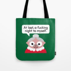 The Claus Come Out Tote Bag