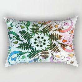 Earth and Air Mandala Rectangular Pillow
