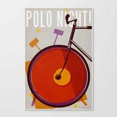 Polo Night! | Polo Canvas Print