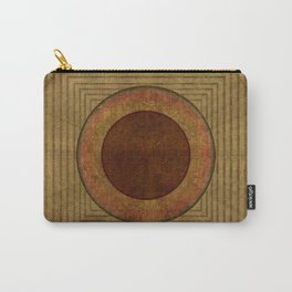 """Golden Circle Japanese Vintage"" Carry-All Pouch"