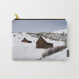 Snow Covered Cabin - Carol Highsmith Carry-All Pouch