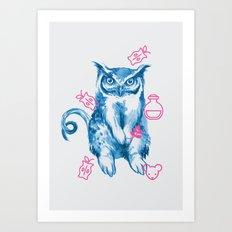 Hybrid Animal 1: GUFONIGLIO Art Print