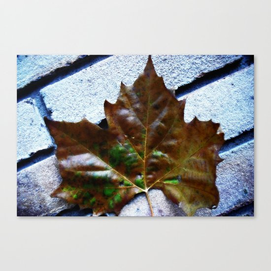 Against The Wall Canvas Print